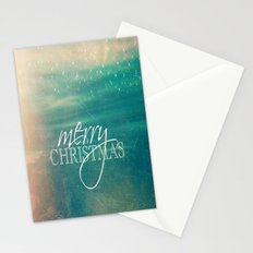Merry Christmas Fairytale Design Stationery Cards