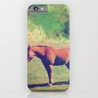 iPhone & iPod Case featuring horse by Laura Moctezuma