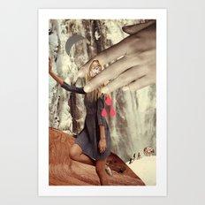 be secret and exult Art Print