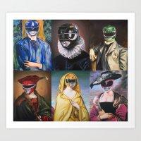Classical Rangers Art Print