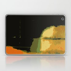 Infinity abstract art print black Laptop & iPad Skin