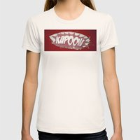 kapoow Womens Fitted Tee Natural SMALL