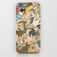 iPhone & iPod Case featuring 1001 faces by Miguel Herranz