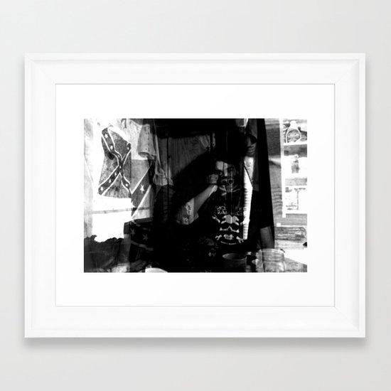 Contraband Framed Art Print