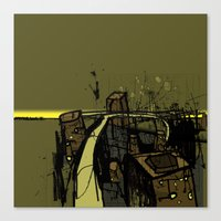 Flyover Canvas Print