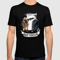 Not Today! Mens Fitted Tee Black SMALL