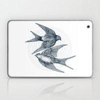 Two Swallows Laptop & iPad Skin