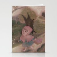Little Red Hood Stationery Cards