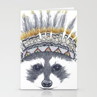 Festivale Raccoon Stationery Cards