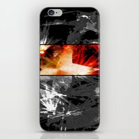 Captain America: Cap's S… iPhone & iPod Skin
