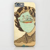 iPhone & iPod Case featuring Adrift by Felicia Piacentino