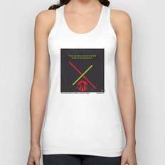 No224 My Star E-II minimal movie poster wars Unisex Tank Top