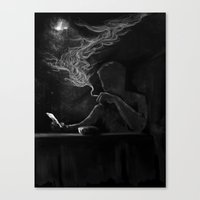 Twisted Reflection Canvas Print