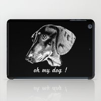 Oh My Dog ! iPad Case