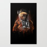 The Martian Canvas Print
