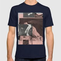the nihilistfish Mens Fitted Tee Navy SMALL