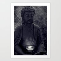 Buddha In The Dark Art Print