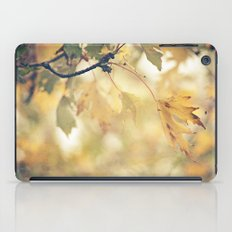 Autumn Yellows iPad Case