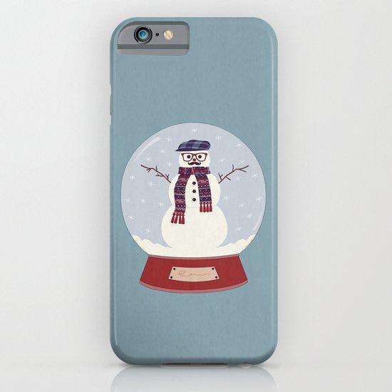 Let it snow, man! iPhone & iPod Case