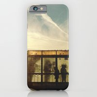 iPhone & iPod Case featuring Bus Stop - Woodward Ave by Michelle & Chris Gerard
