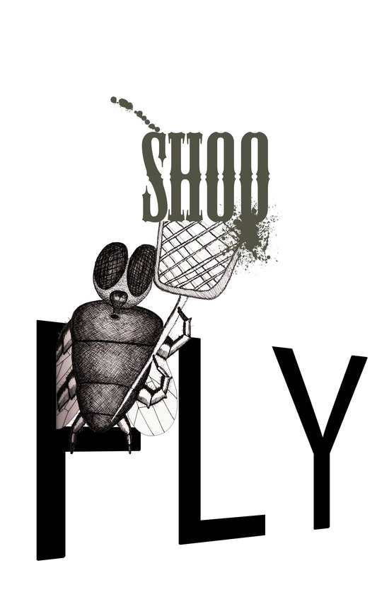 Shoo Fly Art Print