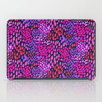 Purple dots iPad Case