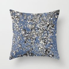 Summer Shower Throw Pillow