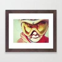 Goldorak Framed Art Print