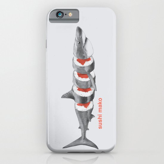 Sushi Mako iPhone & iPod Case