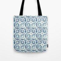 tile pattern IV - Azulejos, Portuguese tiles Tote Bag