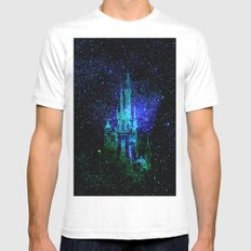 Dream castle. Fantasy Disney SMALL White Mens Fitted Tee