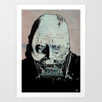 Darth Vader Anakin Skywalker Art Print