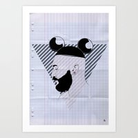 Beard01 Art Print