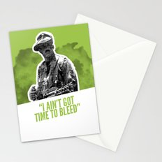 Badass 80's Action Movie Quotes - Predator Stationery Cards