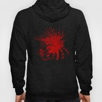 Chinese Cut Out Lion Fish Hoody
