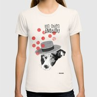 Un chien andalou Womens Fitted Tee Natural SMALL