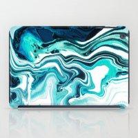 Marble - Sea of Green iPad Case