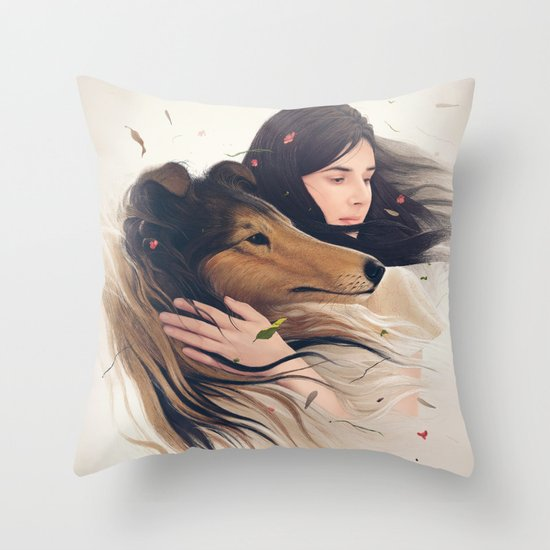Antaeus Throw Pillow
