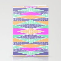 Pastel Tribal Stationery Cards