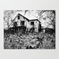Murder. Canvas Print