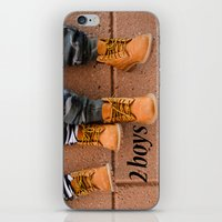 Boots, Two Boys iPhone & iPod Skin