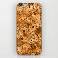 Wild (Series) Gold iPhone & iPod Skin