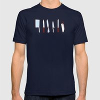 Tools Mens Fitted Tee Navy SMALL