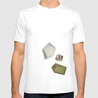 Suburban Dream Mens Fitted Tee White SMALL