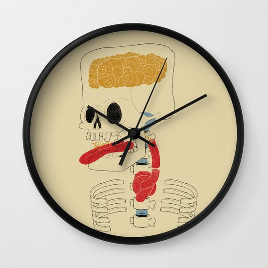 Square Skull...   Wall Clock