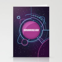 Tomorrowland Stationery Cards