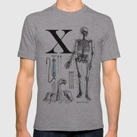ET-Wolverine Mens Fitted Tee Athletic Grey SMALL