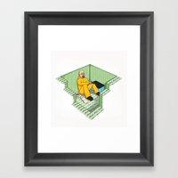 The Money Pit Framed Art Print