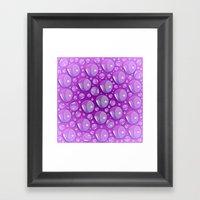 Water Pink Framed Art Print