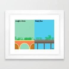 la réinvention Framed Art Print
